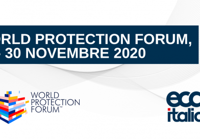 27-30 novembre 2020: Paolo Iacci al World Protection Forum