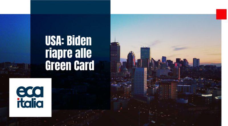 Apertura GreenCard ECA