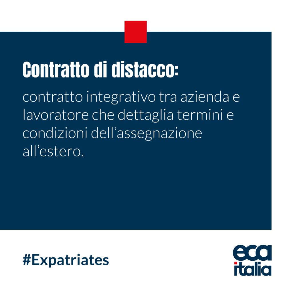 Contratto Distacco ECA