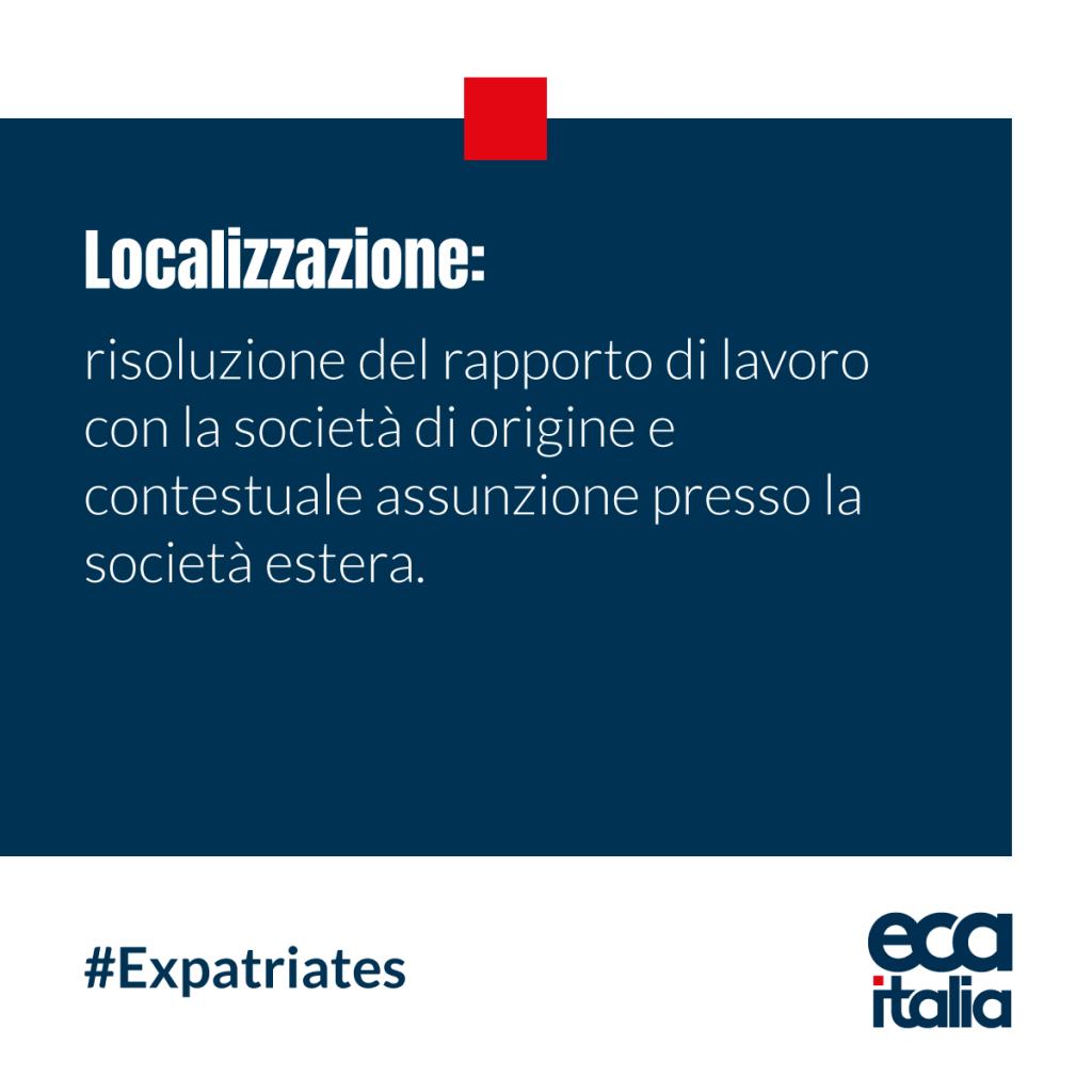 Localizzazione ECAbolario ECA