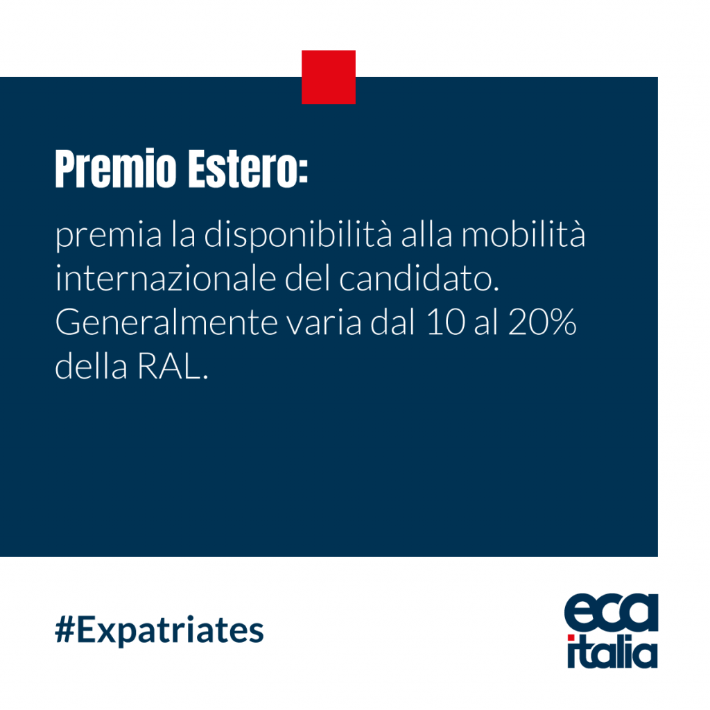 Premio Estero ECA